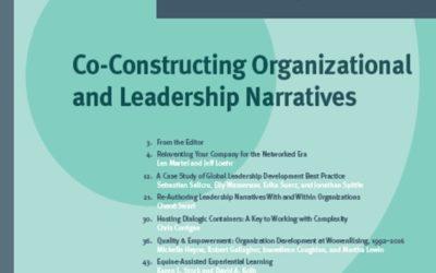 Co-Constructing Organizational and Leadership Narratives